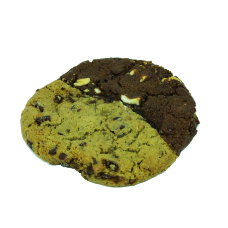 COOKIE CHOCOLAT CHOCOLAT AU LAIT / CHOCOLAT NOIR