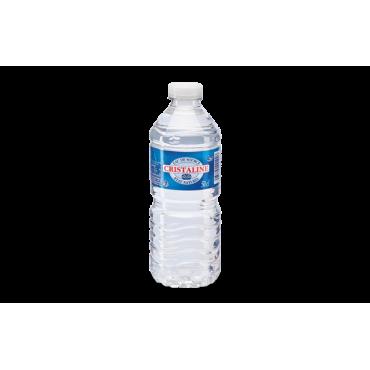 bouteille d'eau cristalline