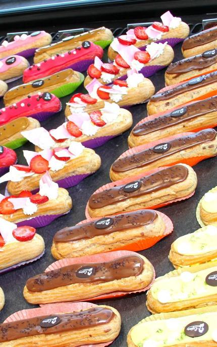 éclairs boulangerie Cerise