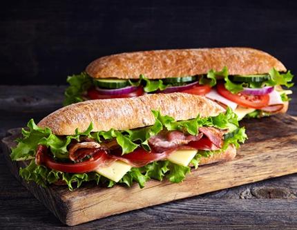 Sandwichs , Salade & Snack chaud